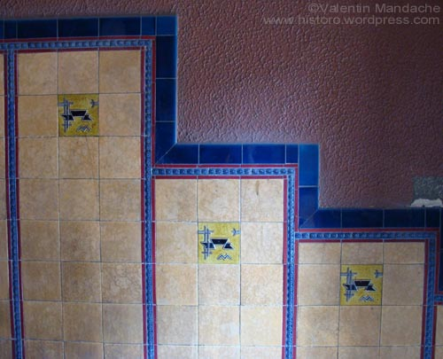 Art Deco ceramic tiles