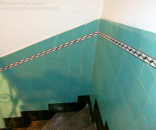 Art Deco ceramic tiles