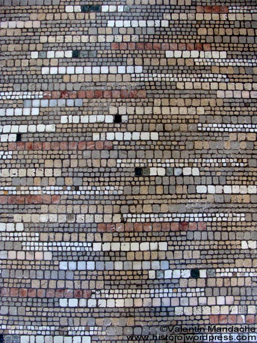 Art Deco floor mosaic