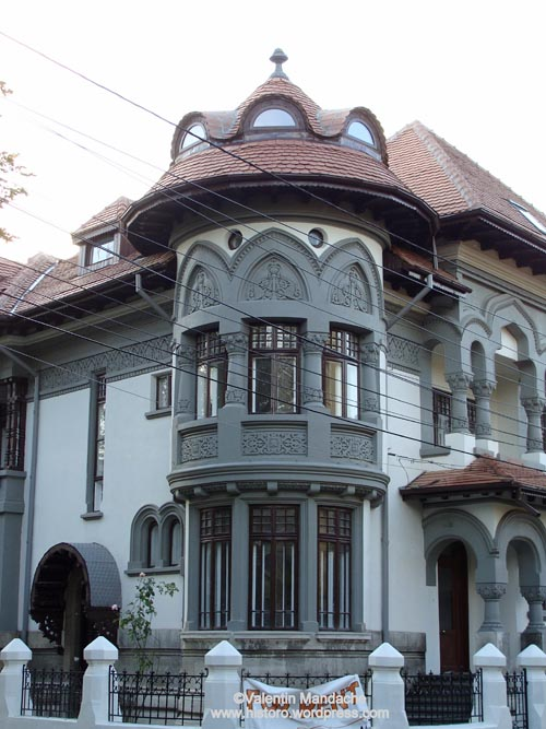 Art nouveau historic houses of romania page 5 - Romanian architectural styles ...