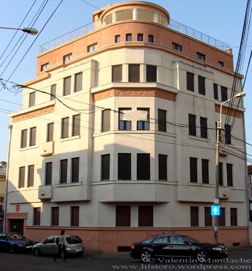 Art Deco office building, Bucharest