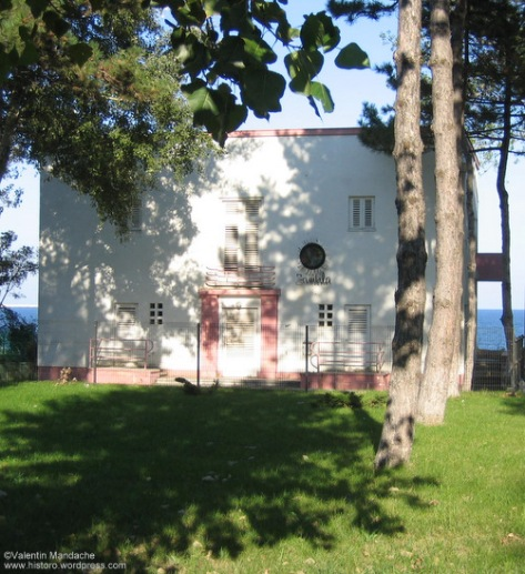 Art Deco seaside villa, Eforie Nord on the Romanian shore of the Black Sea (Valentin Mandache)