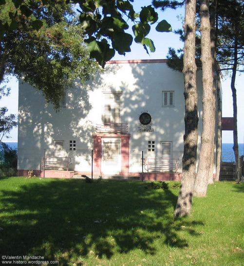 Art Deco seaside villa, Eforie Nord on the Romanian shore of the Black Sea (Valentin Mandache)