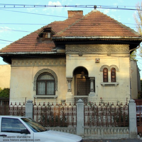 Neo-Romanian style townhouse, Bucharest
