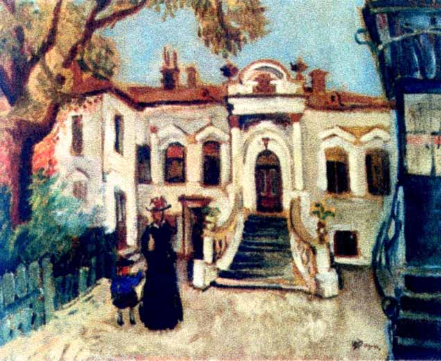 Bucharest as 'Little Paris, impressionist painting