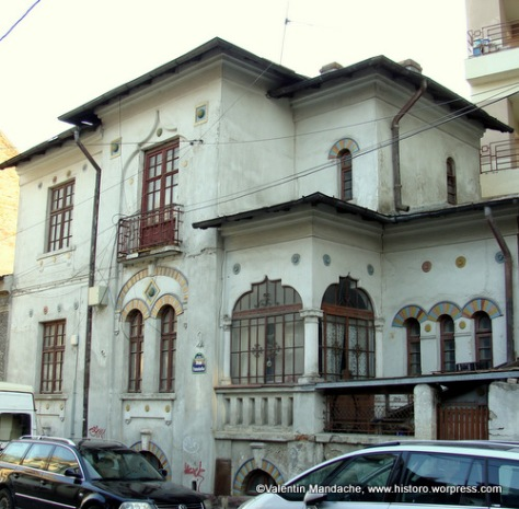Ion mincu historic houses of romania case de epoca - Neo romanian architecture traditional and functional house plans ...