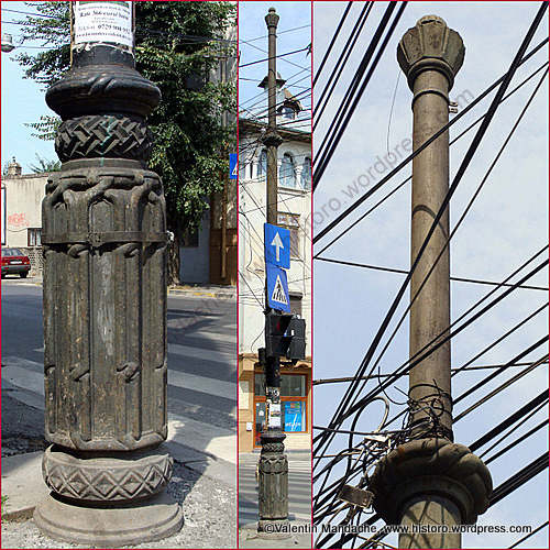 Neo romanian street lamp pole historic houses of romania case de epoca - Neo romanian architecture traditional and functional house plans ...