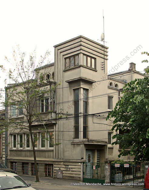 Bucharest mid 1930s art deco style house historic houses for Architecture 1930