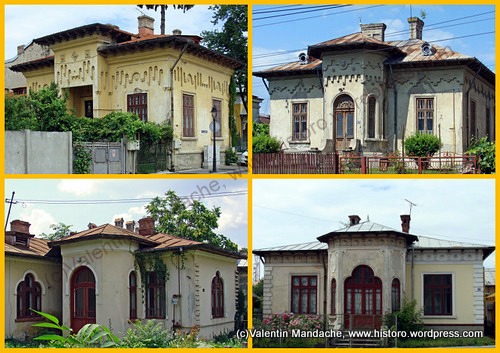 Mixed style houses little paris neo romanian historic houses of romania - Neo romanian architecture traditional and functional house plans ...