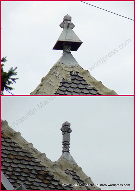 Neo romanian style ethnographic roof finials bucharest - Neo romanian architecture traditional and functional house plans ...