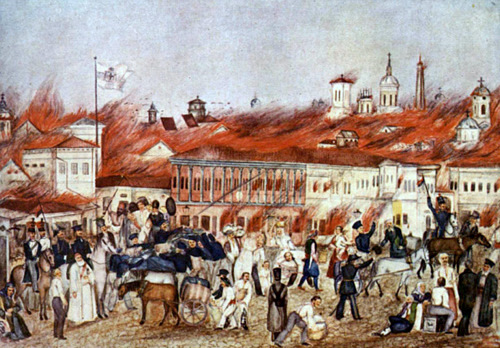 Imagini pentru marele incendiu 1847 bucuresti photos
