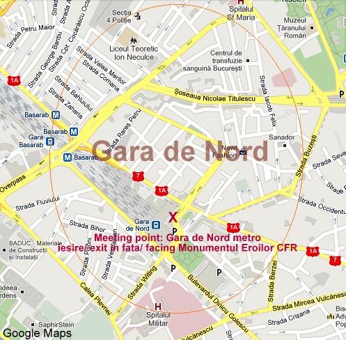 Gara De Nord Bucuresti Harta Harta
