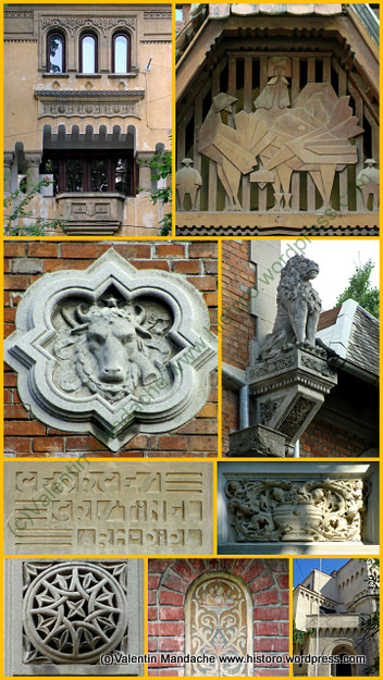 Architectural walking tour in DOROBANTI area of Bucharest - Sunday 14 April (2/3)