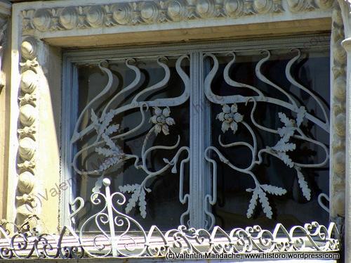 1900s Ploiesti doorway