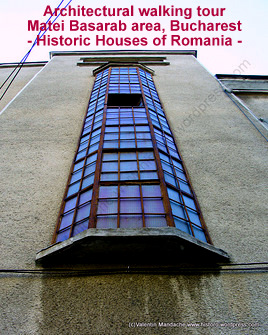 Saturday 9 February: architectural history tour in Matei Basarab area of Bucharest (1/3)