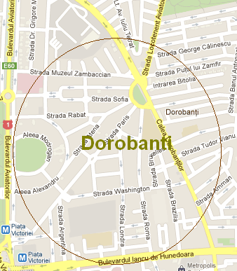Architectural walking tour in DOROBANTI area of Bucharest - Sunday 14 April (3/3)