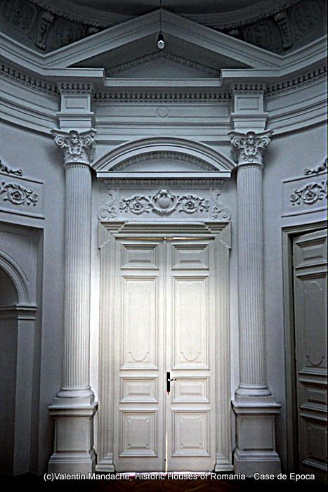 Interior door, the former American Library, Bucharest