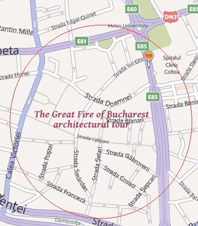 Historic Houses of Romania: The Great Fire of Bucharest Tour