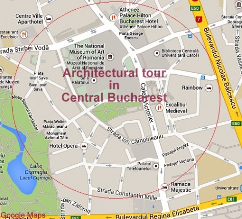 Historic Houses of Romania architectural tour in central Bucharest