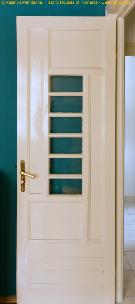 Art Deco apartment doors