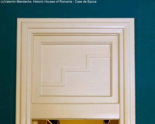 Art Deco apartment doors