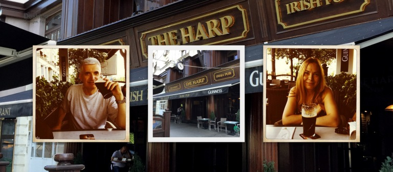 Historic Houses of Romania drinks event, at The Harp pub, on Thursday 13 August, from 18.30h