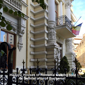 Walking tour in Batistei area of Bucharest