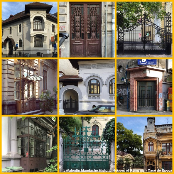 Architectural walking tour in Batistei area of Bucharest. Historic Houses of Romania - Case de Epoca