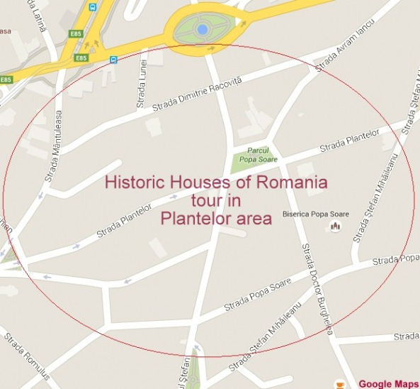 Historic Houses of Romania walking tour in Plantelor area of Bucharest