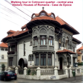 Walking tour in Cotroceni - central part